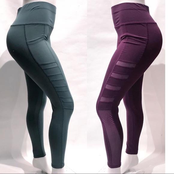e29432cb4cf44 Pants | Black High Waist Phone Pocket Workout Leggings | Poshmark
